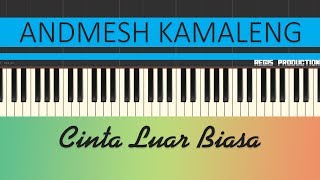 Download Lagu Andmesh Kamaleng - Cinta Luar Biasa (Karaoke Acoustic) by regis Gratis STAFABAND