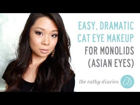 Easy Dramatic Cat Eye for Monolids/Asian Eyes