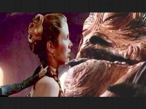 Extended cut Leia  slave embrace