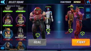 Marvel Strike Force - Dark Dimension TIMED Dr Strange Node 4 Day 3