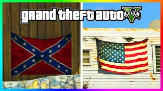 GTA 5 - Was The Confederate Flag Removed From Various Locations In Game?!? (GTA 5 Gameplay)