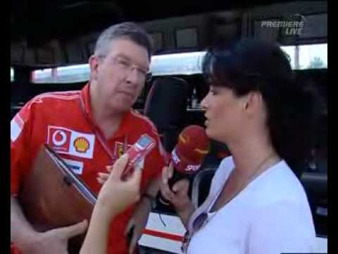 Ferrari's Ross Brawn Interview