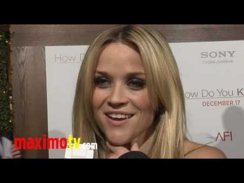 REESE WITHERSPOON Interview at