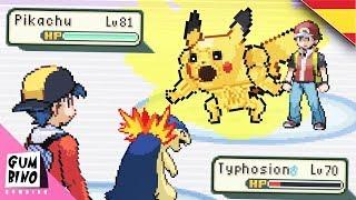 Parodia Animacion Pokemon Español - RED VS GOLD - Rojo vs Oro   Lugre y Gumbino