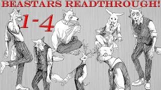 Furries, Drama, & Murder! | Beastars Chapters 1-4 Readthrough!