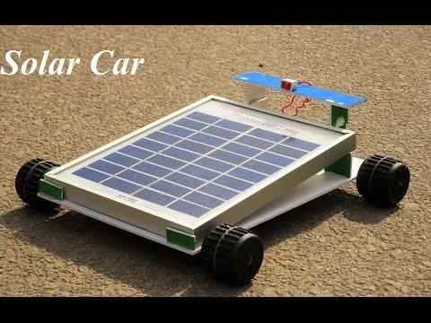 How To Make a car - Solar Car - Very Simple