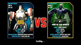 Real Steel WRB Blockbuster VS Zeus (champion) King Of The Robots NEW UPDATE (Живая Сталь)