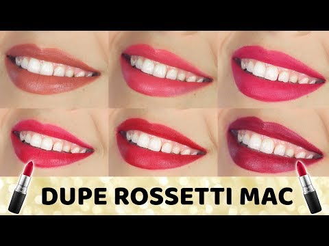 DUPE ROSSETTI MAC LOW COST?!