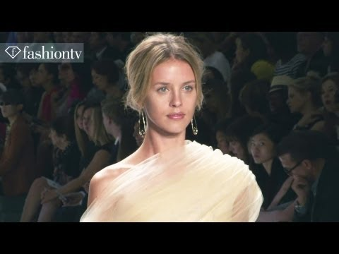 Tadashi Shoji Spring/Summer 2013 Runway Show | New York Fashion Week NYFW | FashionTV