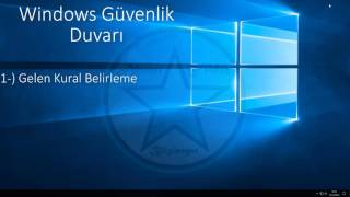 Windows Güvenlik Duvarı HD