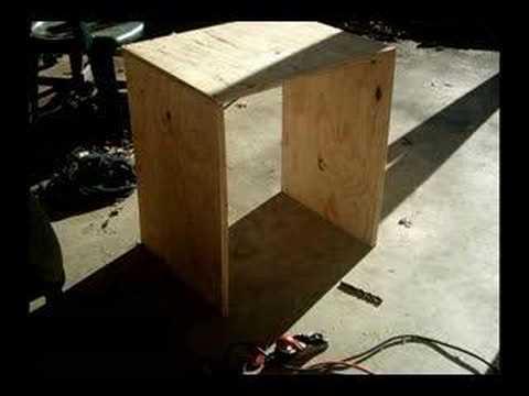Custom 4x10 Bass Cabinet Build Up Youtube