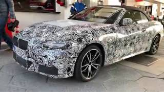 New BMW 4 Series Convertible spied at the Nurburgring