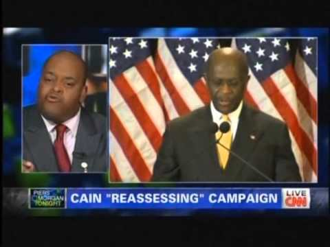 Piers Morgan and Niger Innis on Herman Cain