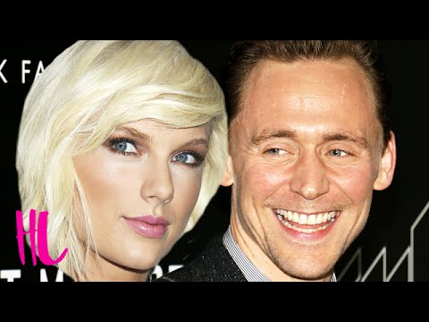 Taylor Swift & Tom Hiddleston Major PDA At Selena Gomez Concert - VIDEO