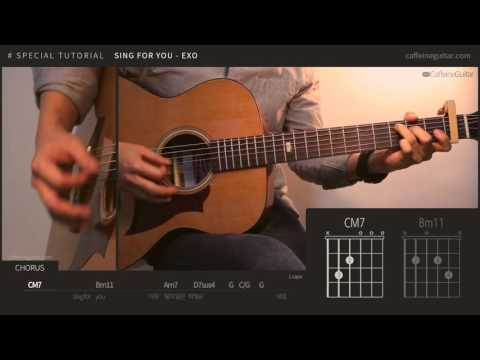 Sing For You 싱포유 - EXO 엑소 | SPECIAL TUTORIAL | Guitar Cover