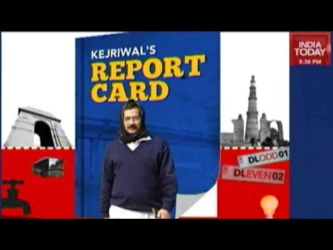 Delhi's Aam Aadmi Party Report Card Out