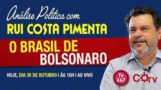 O Brasil sob Bolsonaro. Análise política com Rui Costa Pimenta.(30.10.18)