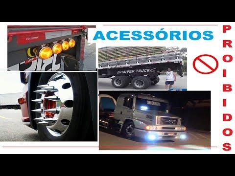 Acessórios Proibidos para caminhões, você sabia?