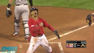 Mookie Betts walks it off with heads up baserunning, a breakdown
