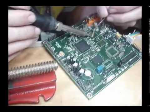 BGA Soldering - Memory Swapping by Hand