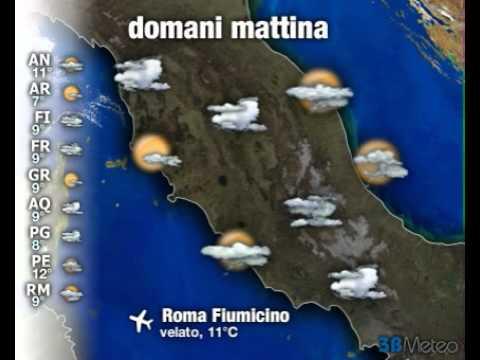 Meteo ITALIA del 22/11/2012