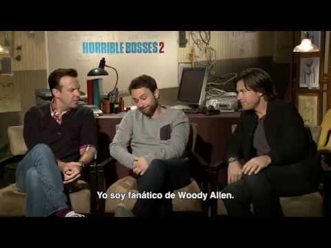 Jason Sudeikis, Charlie Day y Jason Bateman hablan de Horrible Bosses 2 con Alex Medela