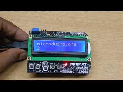 DFRobot I2C / TWI 4x20 LCD Module - RobotShop