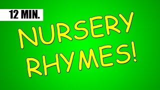 12 minutes of the BEST Nursery Rhymes from Jack Hartmann