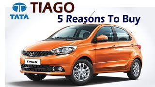 Tata Tiago Crosses 1 Lakh Sales Mark -  5 Reasons Why To Buy | Specifications, Features