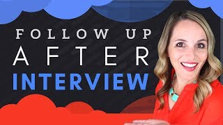 How To Follow Up After A Job Interview - Interview Follow Up Email Template