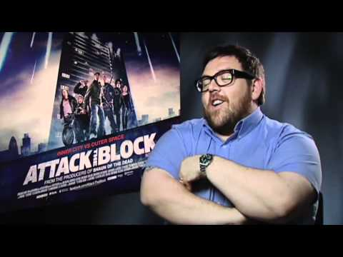 Nick Frost on Attack The Block