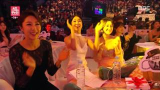 [2015 MBC Entertainment Awards] G-PARK & Real Men opening stage! I'm Your Girl + Twist King 20151229