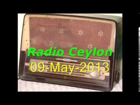 Tribute to Talat Mahmood-1~Radio Ceylon 09-05-2013~Morning~Part-4