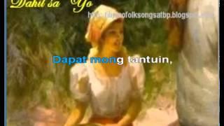 Dahil sa 'Yo   Filipino Folk Song   Kundiman
