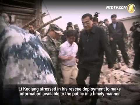 Li Keqiang Meets with Resistance During Inspection of the Earthquake Zone