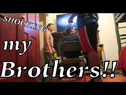 SHOCKING MY BROTHERS PRANK!!