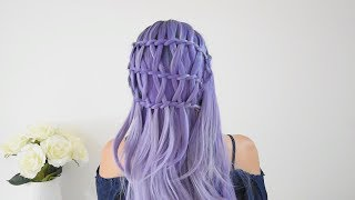 Criss Cross Waterfallbraid DIY | Argentealo