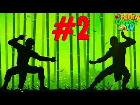 Мультик для детей про бои с тенью игра Shadow Fight 2 динамичные сражения множество ударов и приемов