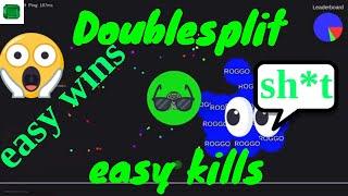 Agar.pro/ Epic wins, trolls and double splits