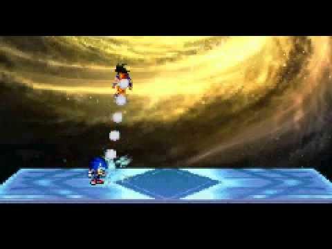 Sonic Vs Mario Vs Goku. video