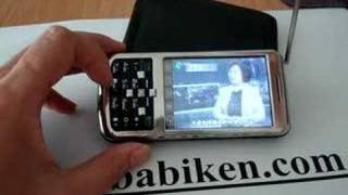 Babiken TV Mobile Phone w/ Dual SIMs working BI-N6198