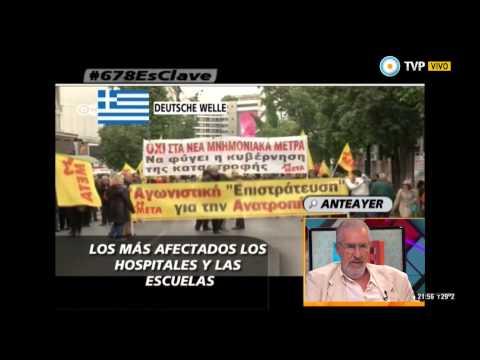678 - Rafael Correa dio cátedra en la televisión española - 18-12-14 (2 de 4)