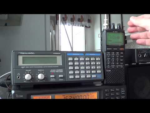 Realistic PRO-2006 VS Icom IC R20 on VHF