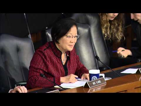 Hirono Questions Sec Hagel and Chairman of the Joint Chiefs Dempsey on Strategy to Defeat ISIL