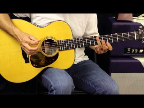 Lesson Guitar - G Scale Warmups