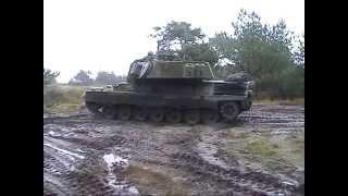 Manöver Dänische Armee Truppenübungsplatz Oksbol November 2002 Leopard 1 DK M113 G3 Army Teil 7