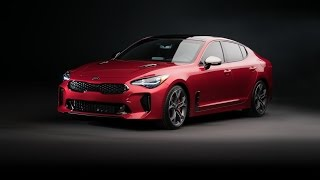 2018 Kia Stinger RWD Sports Sedan