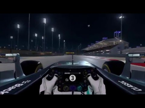 Perfect Start at Bahrain Grand Prix Circuit - F1 Night Race