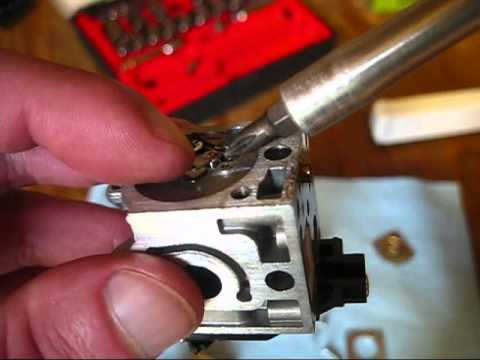 How to Clean a Carburetor on a Small Two Stroke Engine