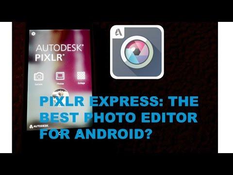 Скачать Фоторедактор Pixlr Express На Андроид